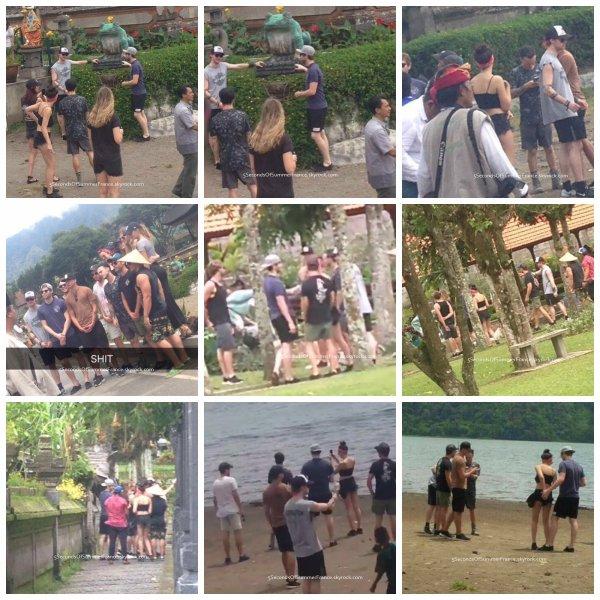 Le 31 décembre 2015 Les 5SOS profitent à Bali !