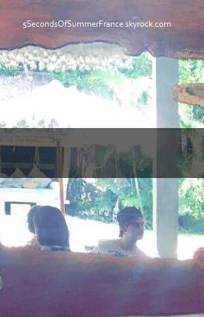Le 1er janvier 2016 Les 5SOS se reposent à Bali !