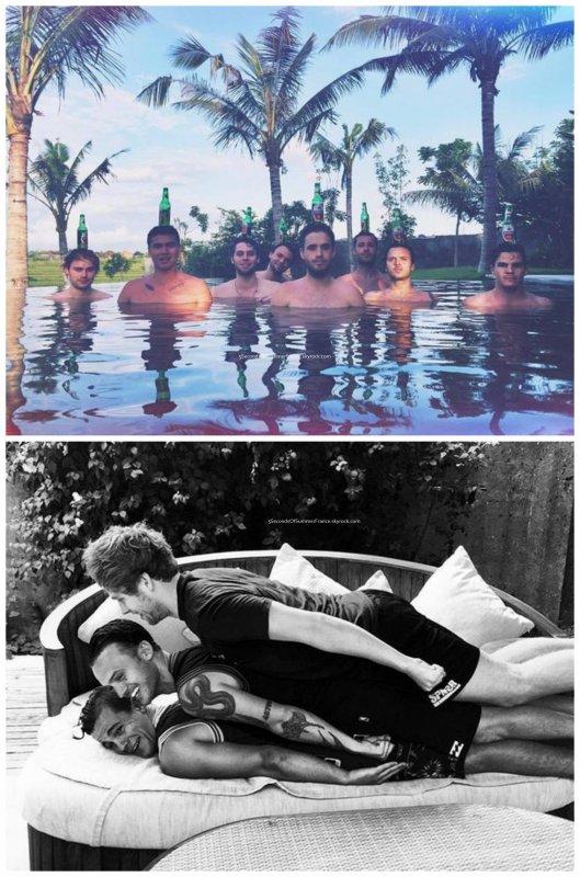 Le 3 janvier 2016 Les garçons sont toujours en vacances !