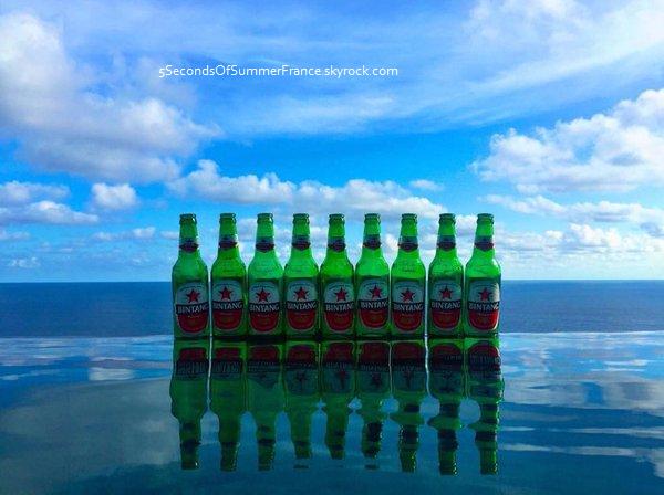 Le 10 janvier 2016 Les vacances à Bali se terminent !