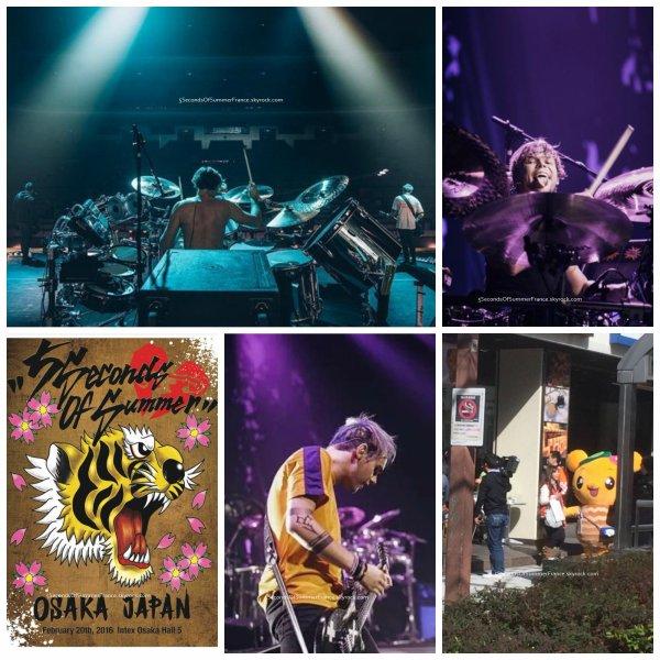 Le 20 février 2016 Concert à Osaka aujourd'hui !