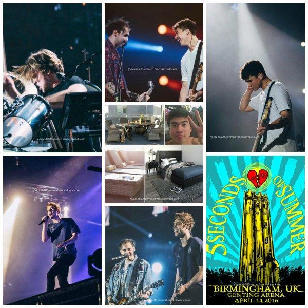 Le 15 avril 2016 Premier concert à Cardiff aujourd'hui !