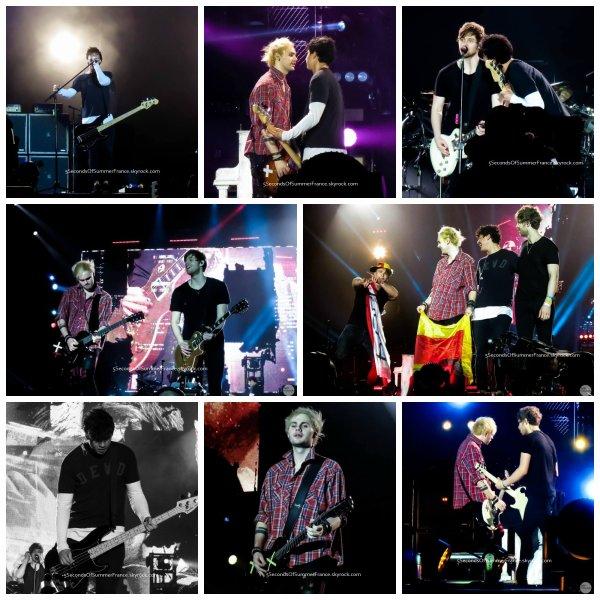 Le 10 juin 2016 Concert à Barcelone aujourd'hui !