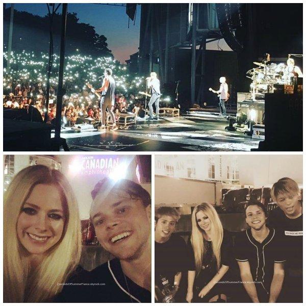 Le 13 juillet 2016 Concert à Montréal aujourd'hui !