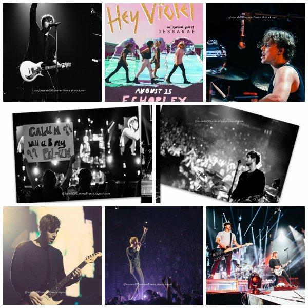 Le 15 juillet 2016 Concert au Madison Square Garden aujourd'hui !