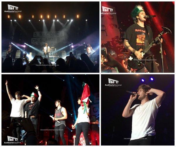 Le 24 septembre 2016 Second concert à Mexico aujourd'hui !