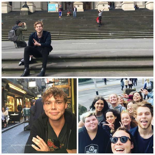 Le 29 septembre 2016 Concert à Melbourne aujourd'hui !
