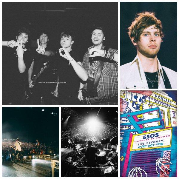 Le 5 octobre 2016 Second concert à Sydney aujourd'hui !