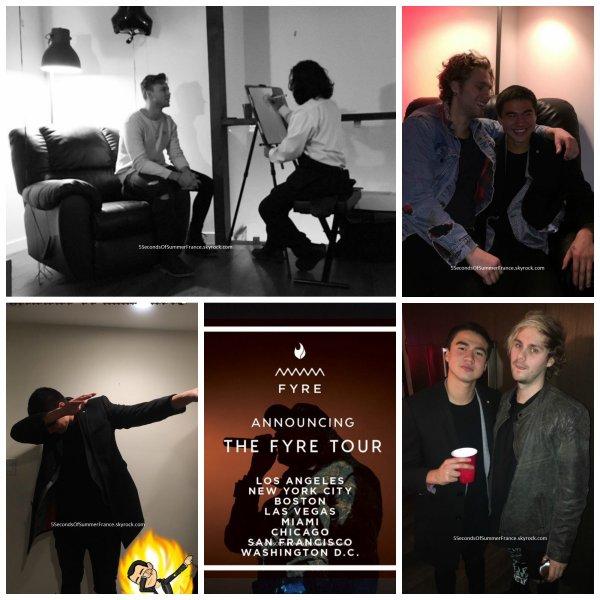 Le 27 janvier 2017 Le groupe travaille en studio !