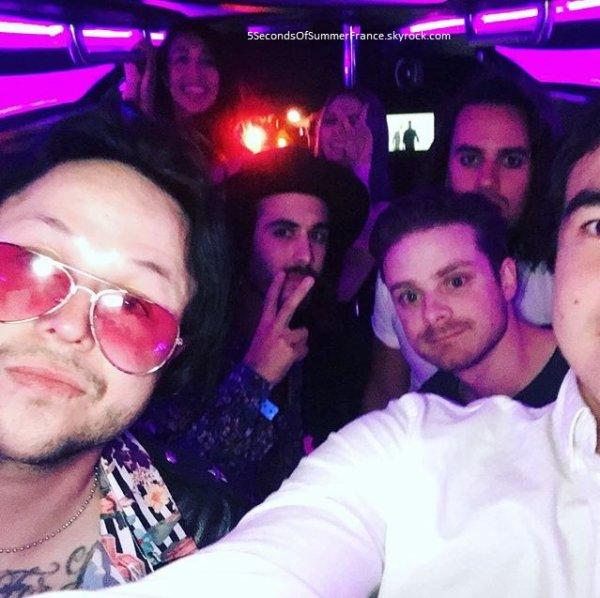 Le 22 mars 2017 Le groupe est à Los Angeles !