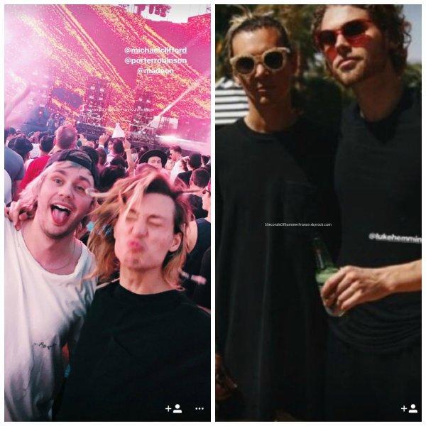 Le 25 avril  2017 Les gars sont de nouveau à Los Angeles !