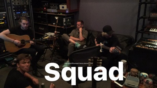 Le 17 mai 2017 Toujours en studio !
