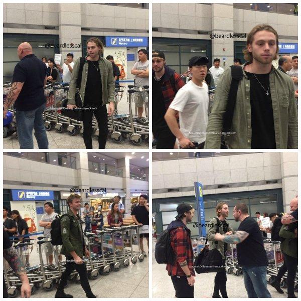 Le 12 août 2017 Le groupe est à Incheon !