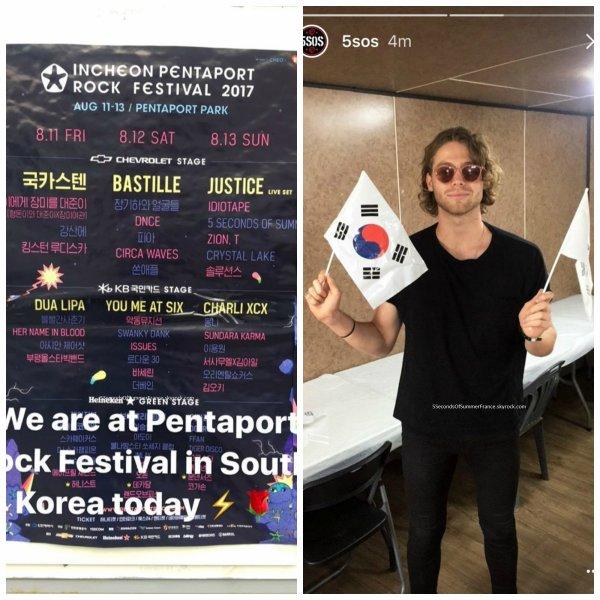 Le 14 août 2017 Les 5SOS seront aux Philippines jeudi !