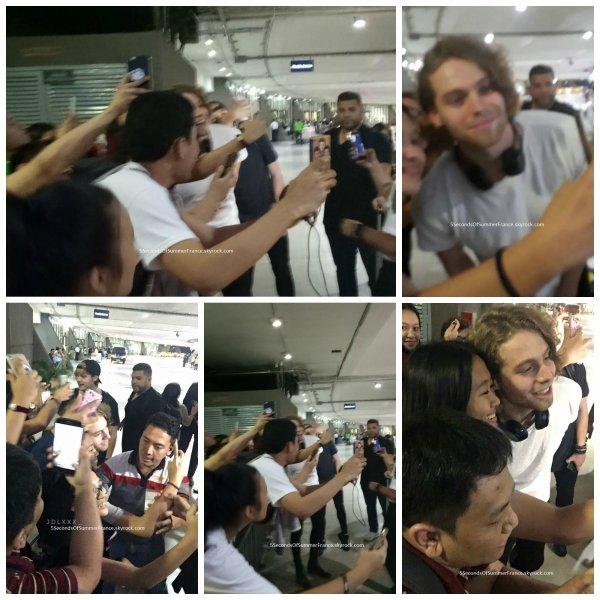 Le 16 août 2017 Les 5SOS sont à Manille !