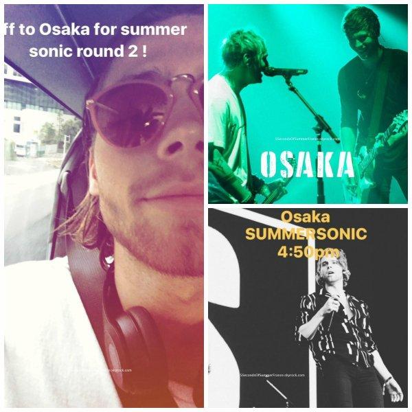 Le 21 août 2017 Les 5SOS seront en Suède jeudi !