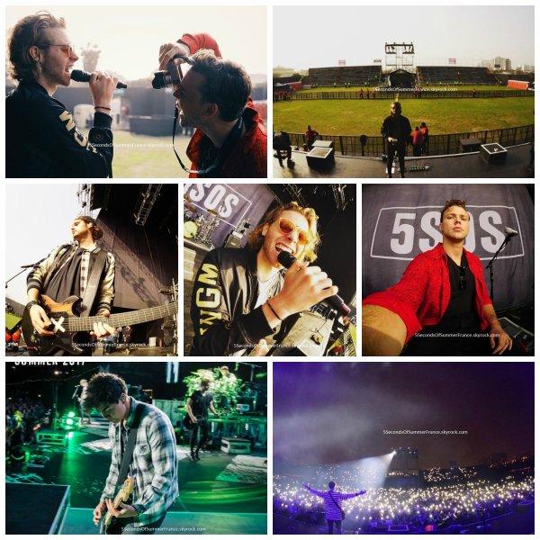 Le 7 septembre 2017 Le concert à Santiago est demain !