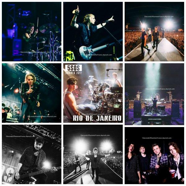 Le 16 septembre 2017 Les 5SOS ont terminé leur tournée !