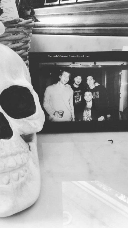 Le 18 septembre 2017 Le groupe est de retour à Los Angeles !