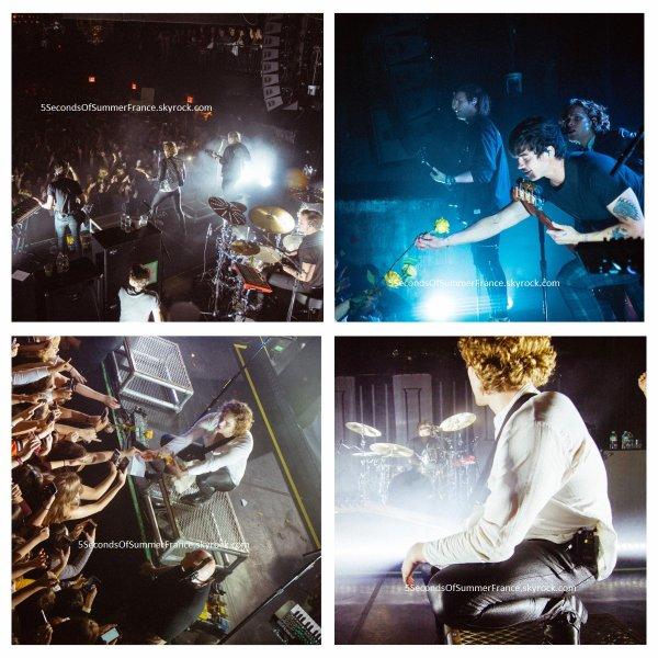 Le 18 avril 2018 Concert à Nashville aujourd'hui !