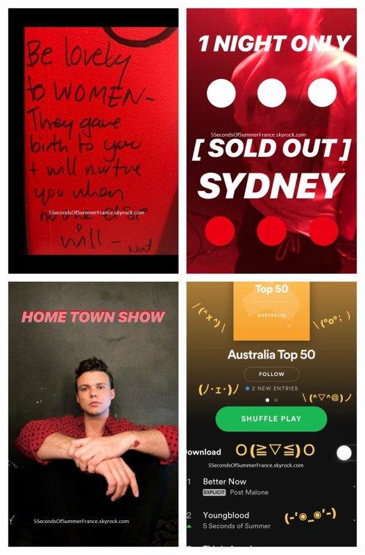 Le 25 mai 2018 Les 5SOS seront à The Voice Australia dans deux jours !