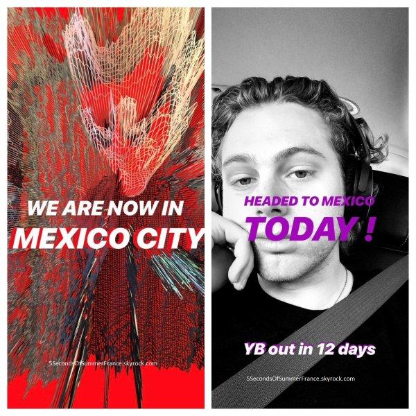 Le 4 juin 2018 Concert à Mexico aujourd'hui !