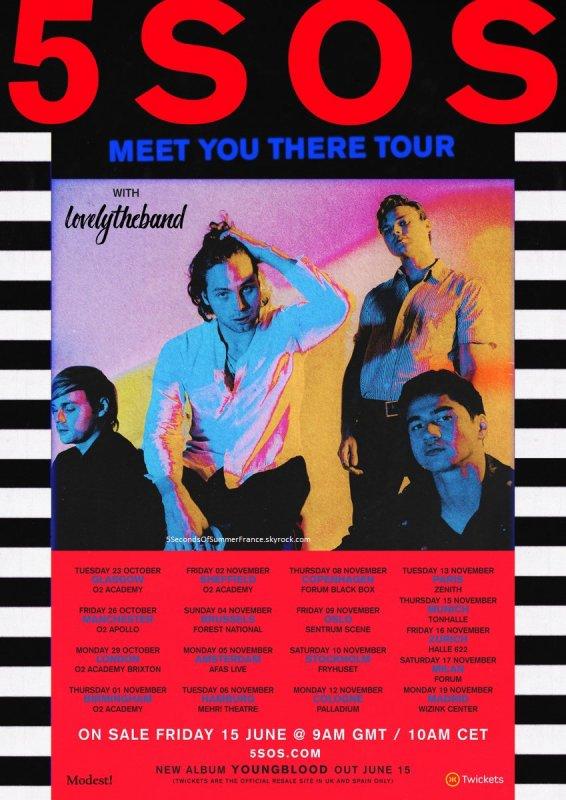 Le 9 juin 2018 Annonce des dates de la tournée européenne !