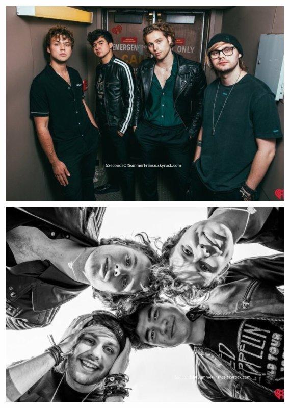 Le 28 juin 2018 Les 5SOS ont performé pour iHeartRadio !