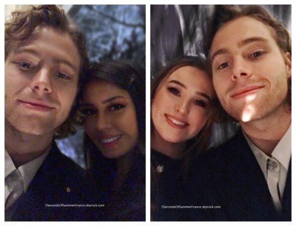 Le 12 février 2019 Luke a participé à un défilé !