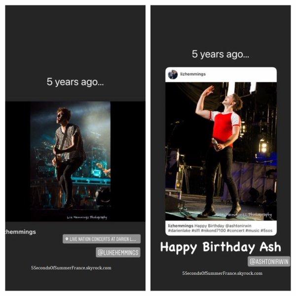 Le 8 juillet 2021 Ashton a fêté ses 27 ans !