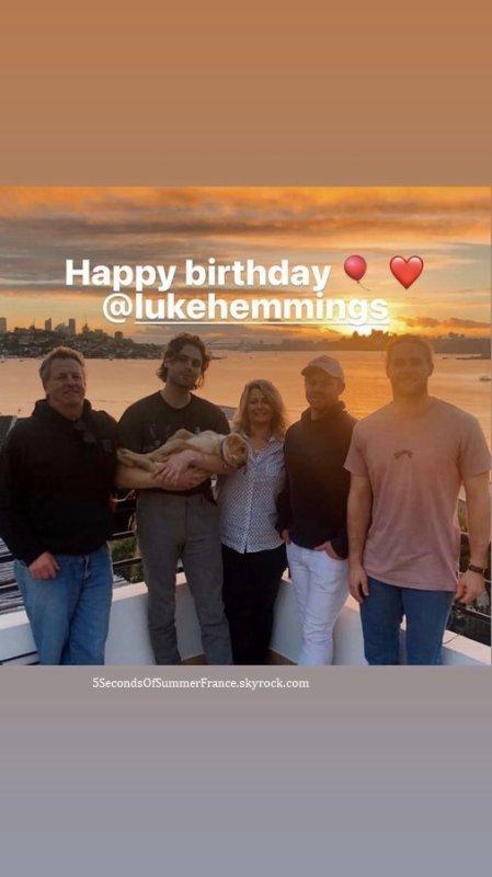 Le 17 juillet 2021 Luke a fêté ses 25 ans !