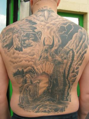 dos indien - pascal tattoo 78