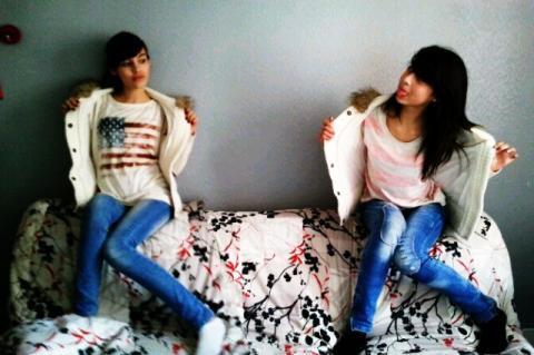 Fantine et Andréa <3