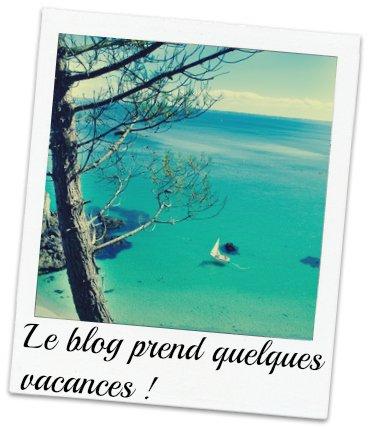 🎀Le blog prend quelques vacances !🎀