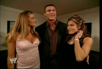 Maria Kannellis, Randy Orton et Melina