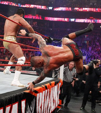 Royal rumble : resultat