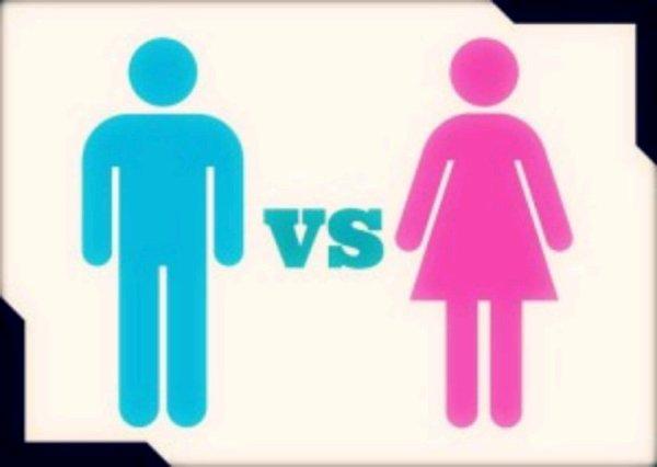 Les femmes vs les hommes...
