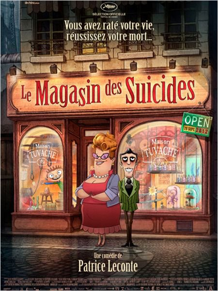 Le Magasin des suicides 1/5