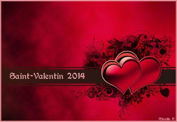 Bonne St Valentin à Tous et à Toutes