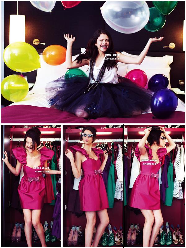 """Découvre le shoot, que Selena a fait pour le magasine français """"Gala""""."""