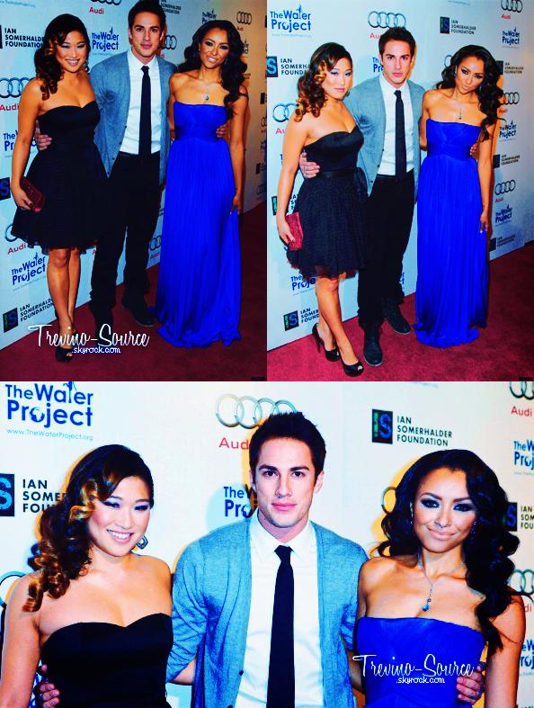 """03/12/11 ♦ Michael était à la soirée """"The Ripple Effect"""" organisée par Ian et la magnifique Kat.     Michael était joliment accompagné de Jenna, sa petite amie, et de Kat Graham."""