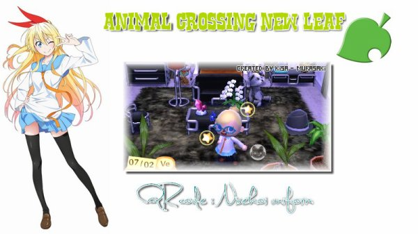 Animal crossing new leaf : QR code