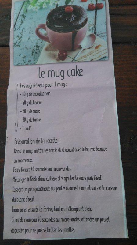 Le mug cake