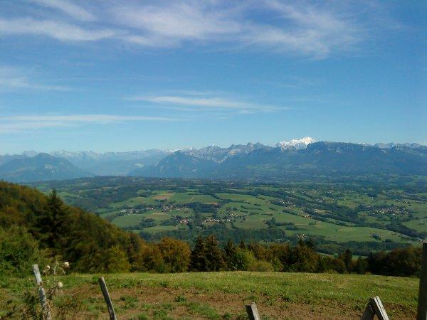 Le Salève en Haute-Savoie (1370m)