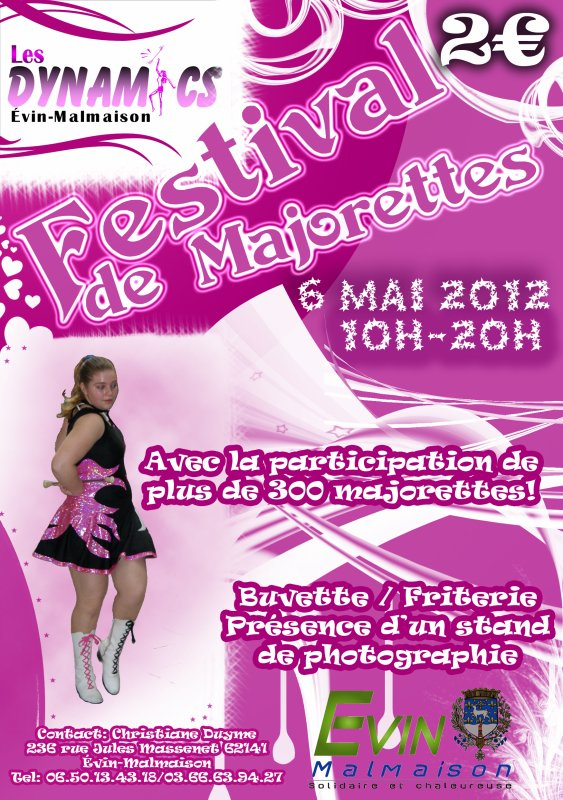 FESTIVAL DE MAJORETTES le 6 mai 2012