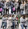 Samedi 9 Avril : Selena , sa famille et une amie était au parc DisneyLand en Californie