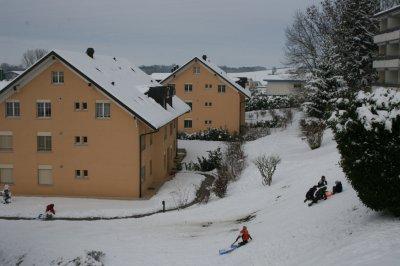 La neige .....
