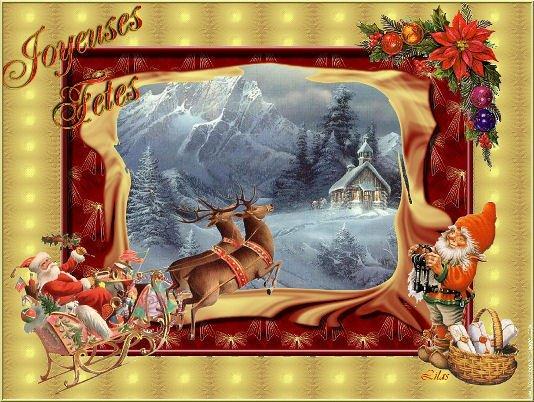 Meilleurs voeux de fin d'année à tous .