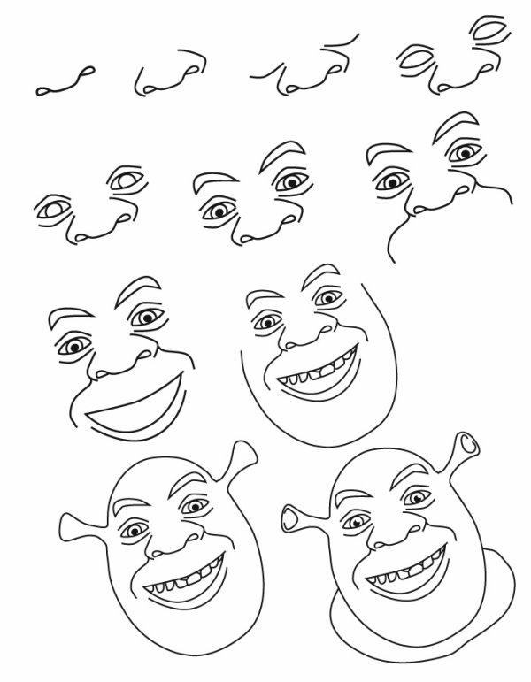 dessin visage femme //  رفع الصور