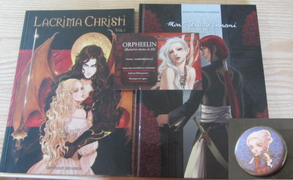 Chasse aux goodies: Japan expo